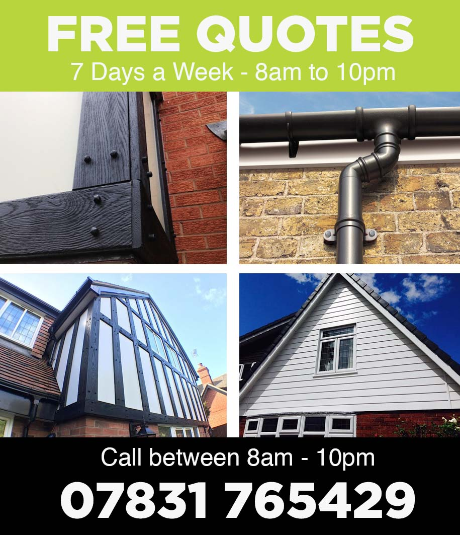 uPVC Mock Tudor Boards Quotes