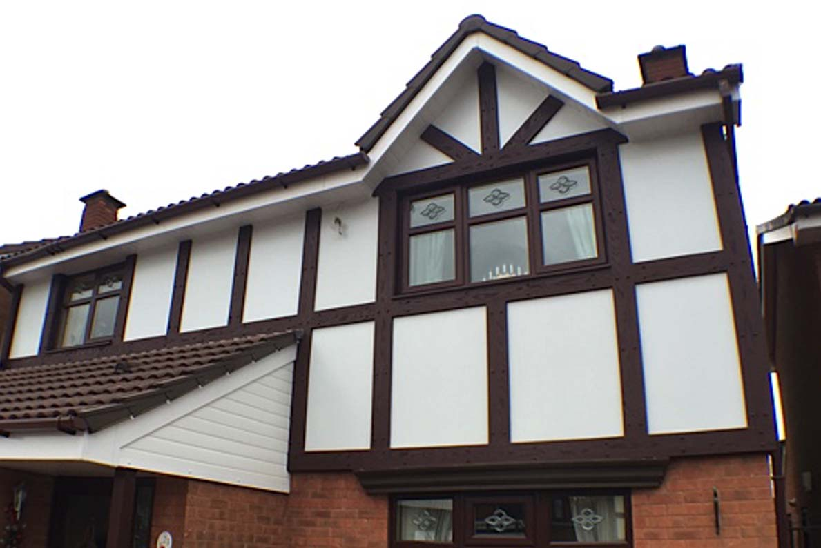 upvc mock tudor boards