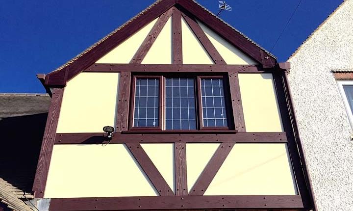 Mock Tudor Boards Newport