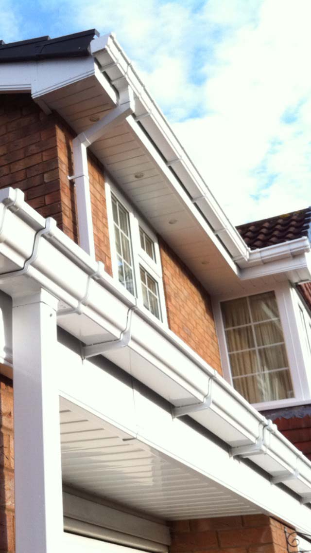 how to fit upvc fascia boards